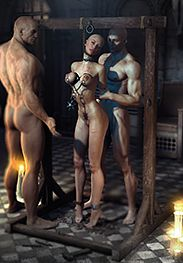 The inquisition 04 - Now get your lips onto his balls by Agan Medon